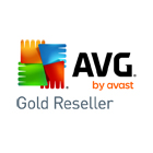 AVG Gold Reseller partner logo