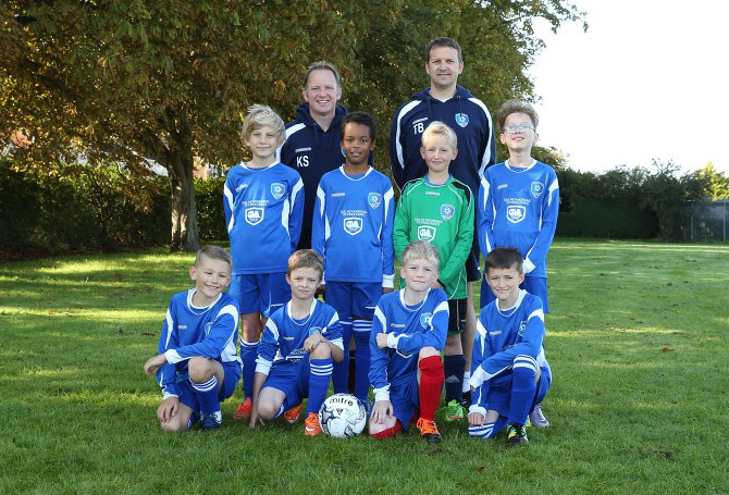 Frinton & Walton Youth Football Club Under 10 Reds